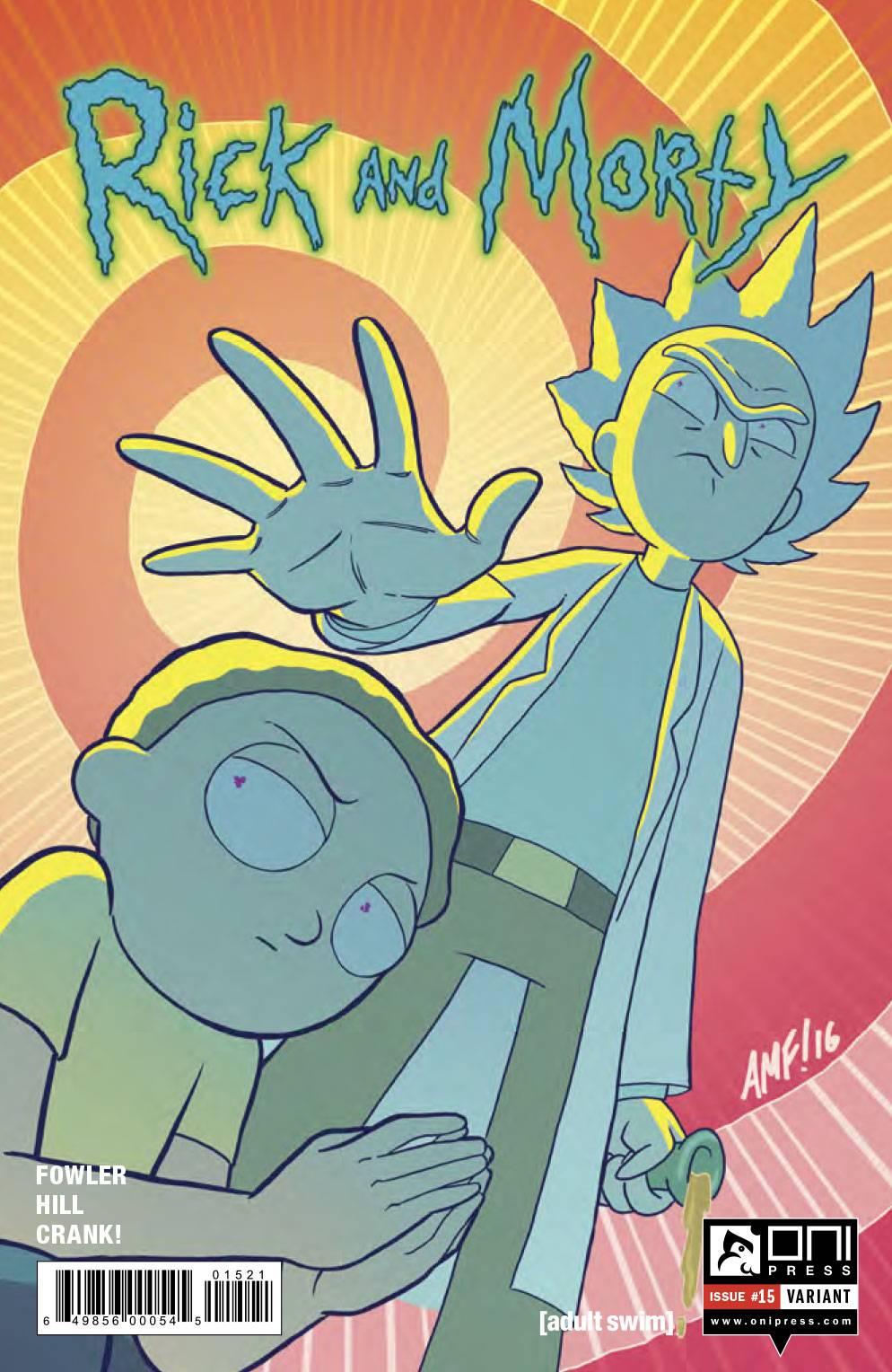 Rick And Morty 15 Fleecs Cover Fresh Comics
