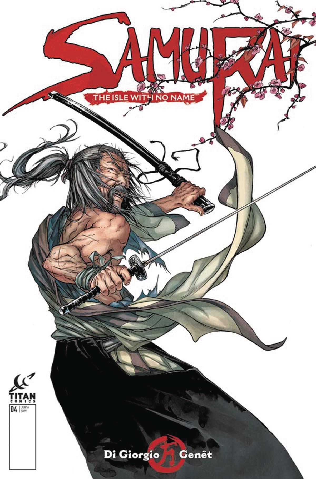 Samurai 4 Genet Cover Fresh Comics