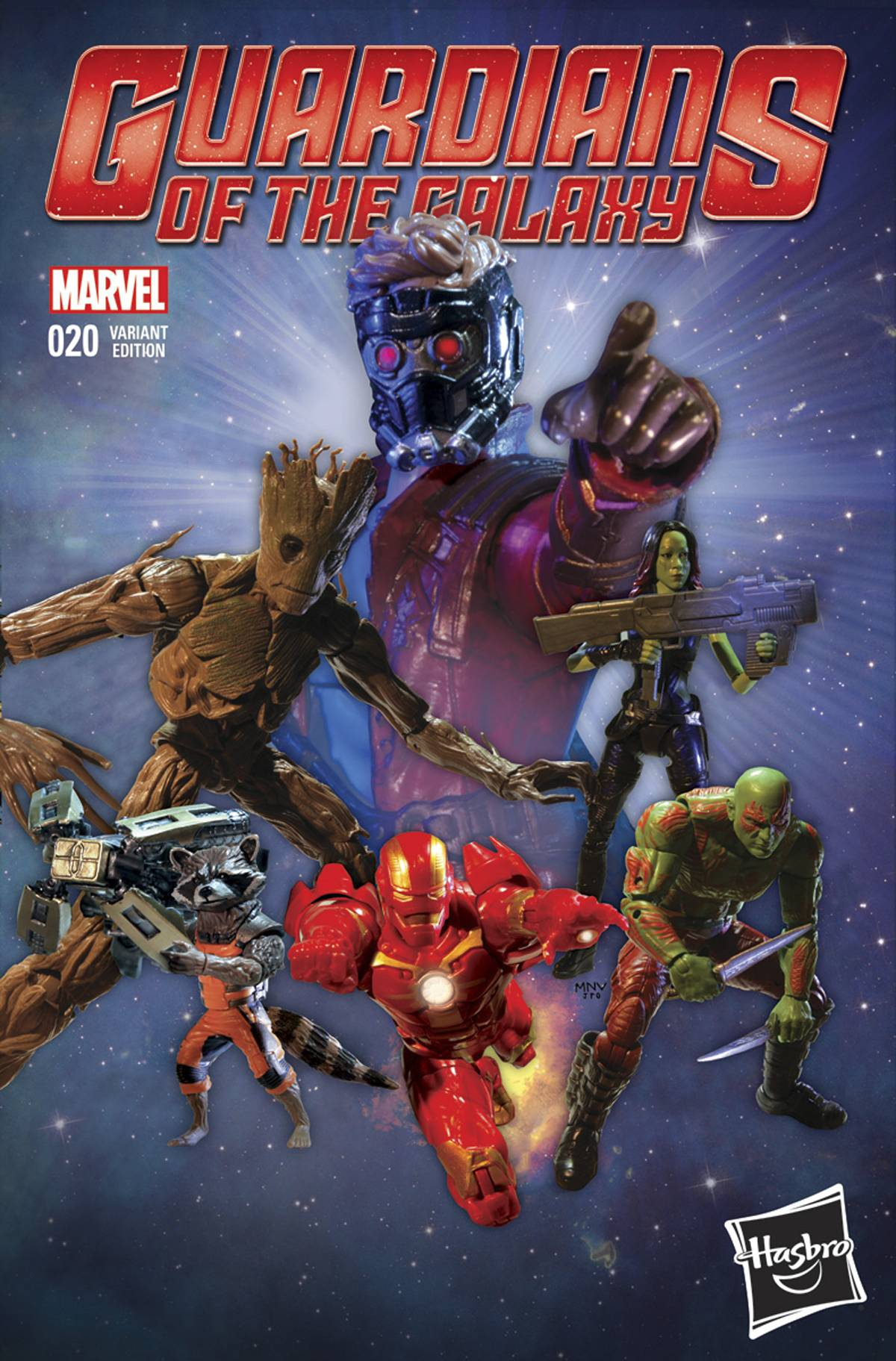 Guardians Of The Galaxy 20 Hasbro Cover Fresh Comics