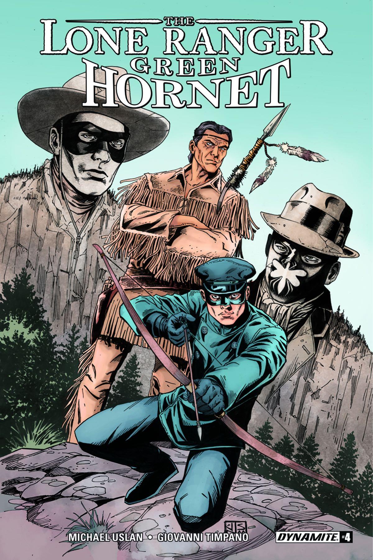 The Lone Ranger The Green Hornet 4 Fresh Comics
