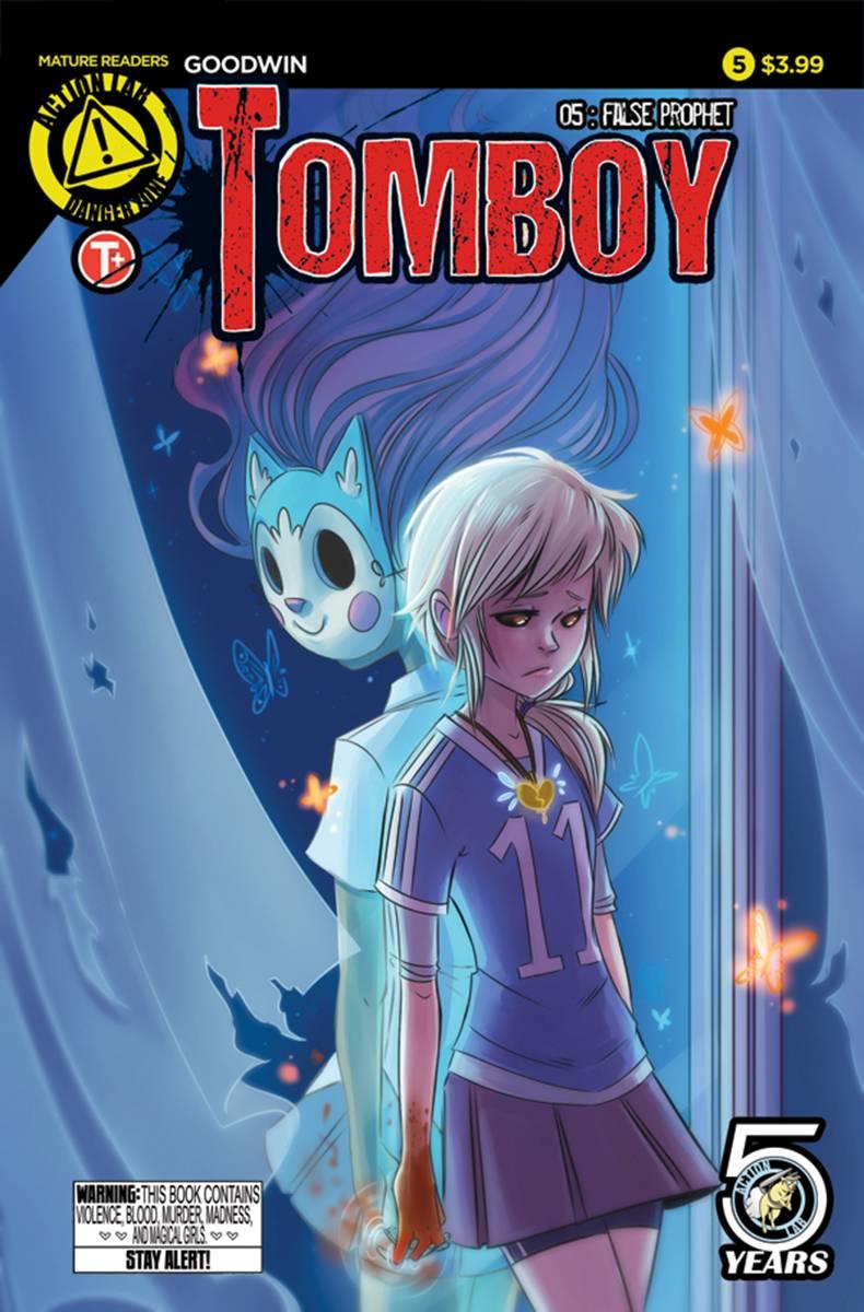 Tomboy 5 Goodwin Cover Fresh Comics