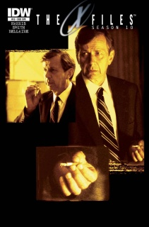 The X-Files, Season 10 #15 (Subscription Cover)