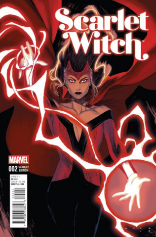 Scarlet Witch #2 (Anka Cover)