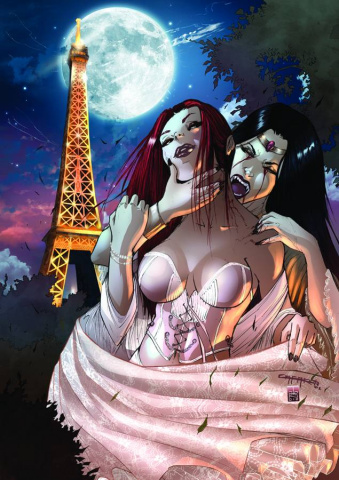 Grimm Fairy Tales Unleashed: Vampires - Eternal #1 (Cafaro Cover)
