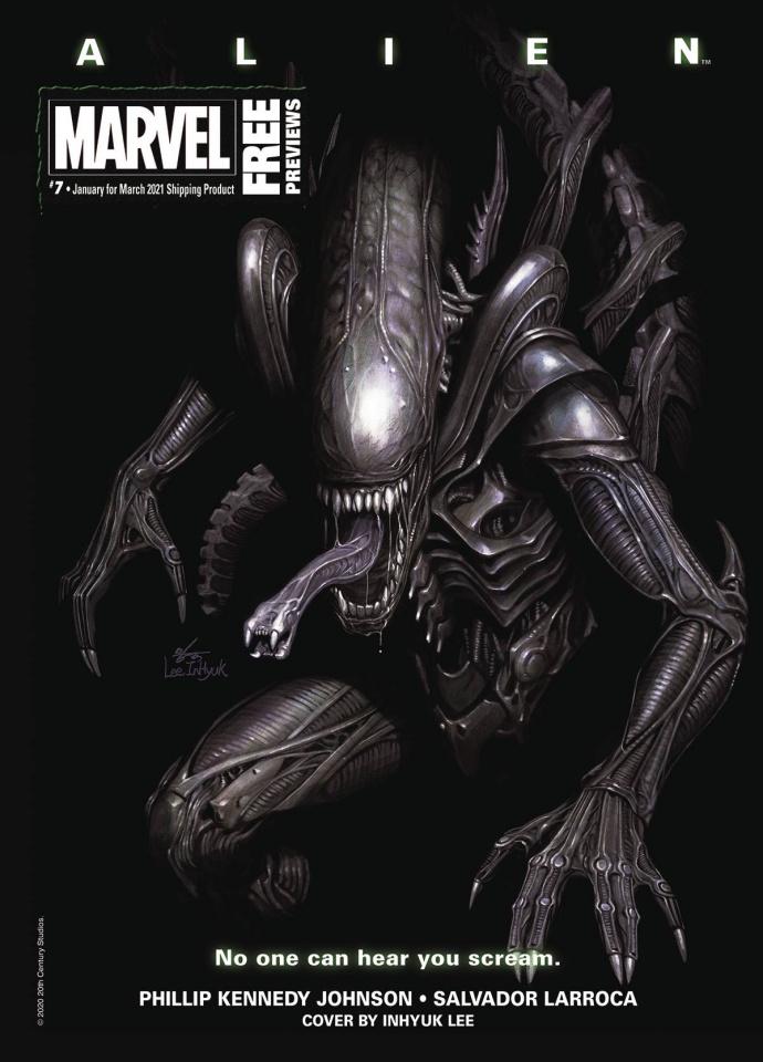 Marvel Previews #7: January 2021 Extras