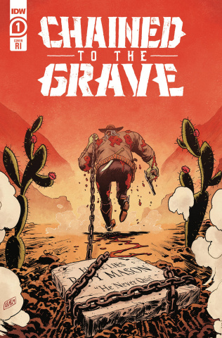 Chained to the Grave #1 (10 Copy Brian Level Cover)