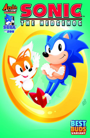 Sonic the Hedgehog #288 (Genevieve FT Cover)