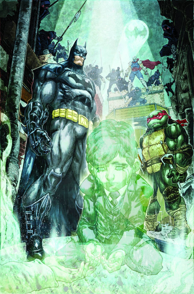 Batman / Teenage Mutant Ninja Turtles #4