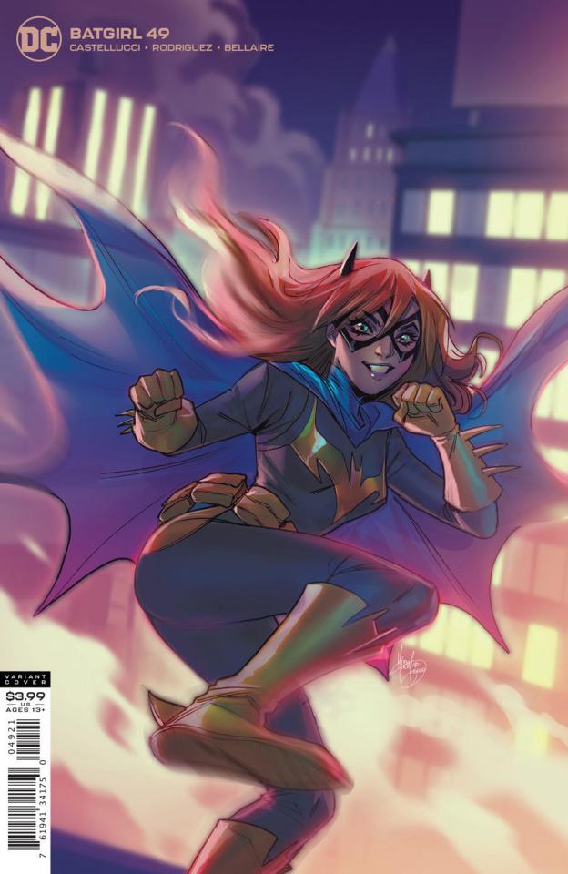 Batgirl #49 (Mirka Andolfo Cover)