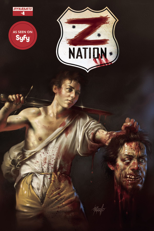 Z Nation #4 (Parrillo Cover)