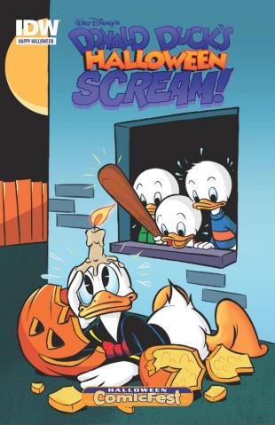 Donald Duck's Halloween Scream! #1 (Halloween ComicFest 2015)