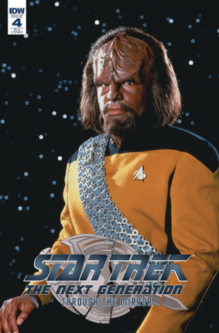 Star Trek: The Next Generation - Through the Mirror #4 (10 Copy Cover)
