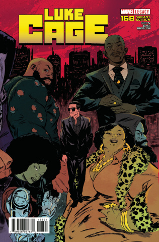 Luke Cage #168 (Greene Connecting Cover)