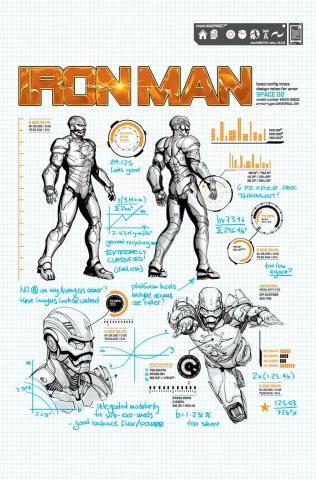 Iron Man #6 (Design Cover)