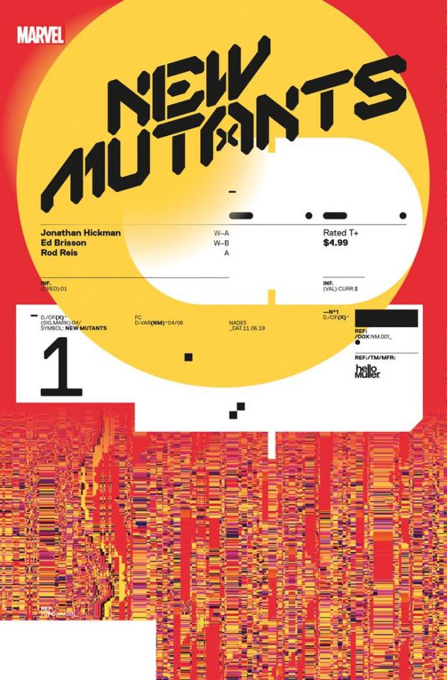 New Mutants #1 (Muller Design Cover)