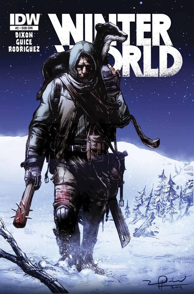 Winterworld #2 (Subscription Cover)