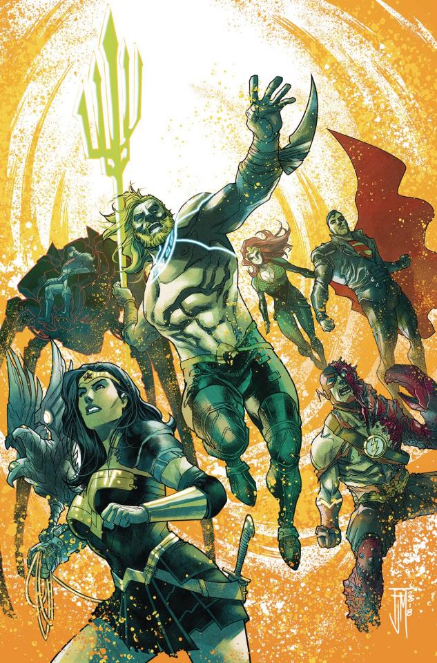 Aquaman / Justice League: Drowned Earth #1