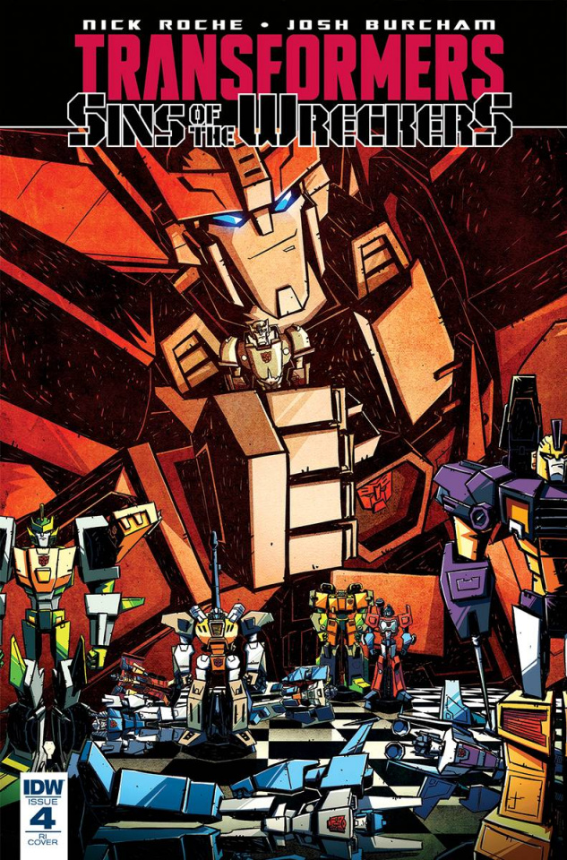 The Transformers: Sins of the Wreckers #4 (10 Copy Cover)