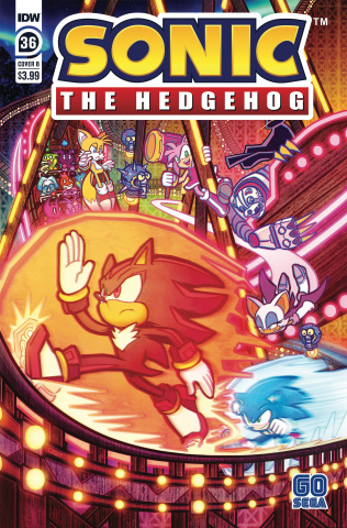 Sonic the Hedgehog #36 (Graham Cover)