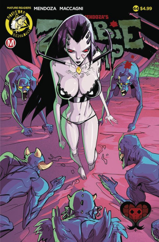 Zombie Tramp #44 (Celor Cover)
