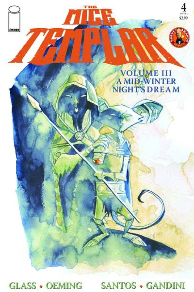 The Mice Templar #4 (Michael Avon Oeming Cover)