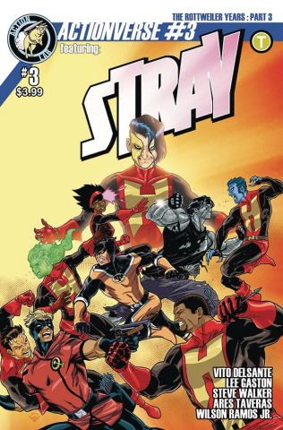Actionverse #3 (Stray Izaakse Cover)