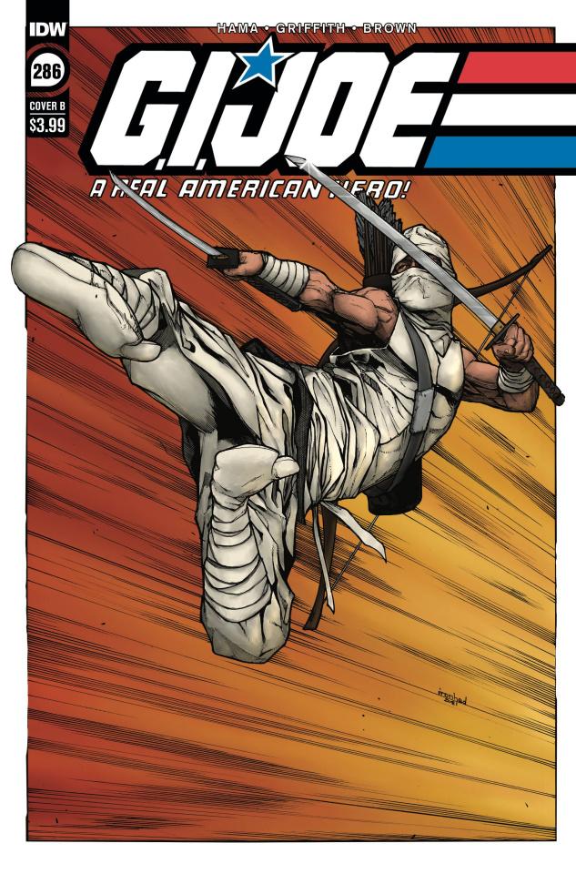 G.I. Joe: A Real American Hero #286 (Sanchez Cover)
