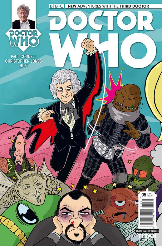 Doctor Who: New Adventures with the Third Doctor #5 (Ellerby Cover)