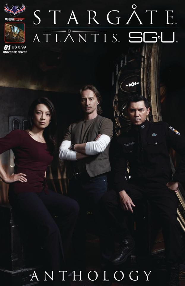 Stargate Atlantis/Universe Anthology 2018 (Photo Cover)