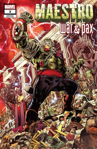 Maestro: War & Pax #3 (Jimenez Cover)