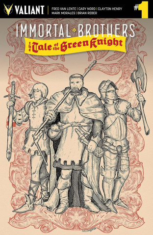Immortal Brothers: The Tale of the Green Knight #1 (20 Copy Draguna Cover)
