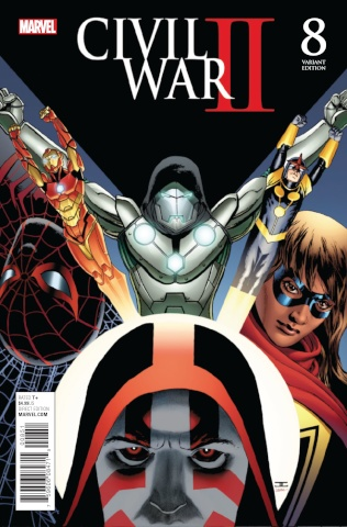 Civil War II #8 (Cassaday Cover)