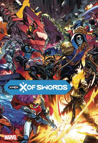 X of Swords (Larraz Cover)