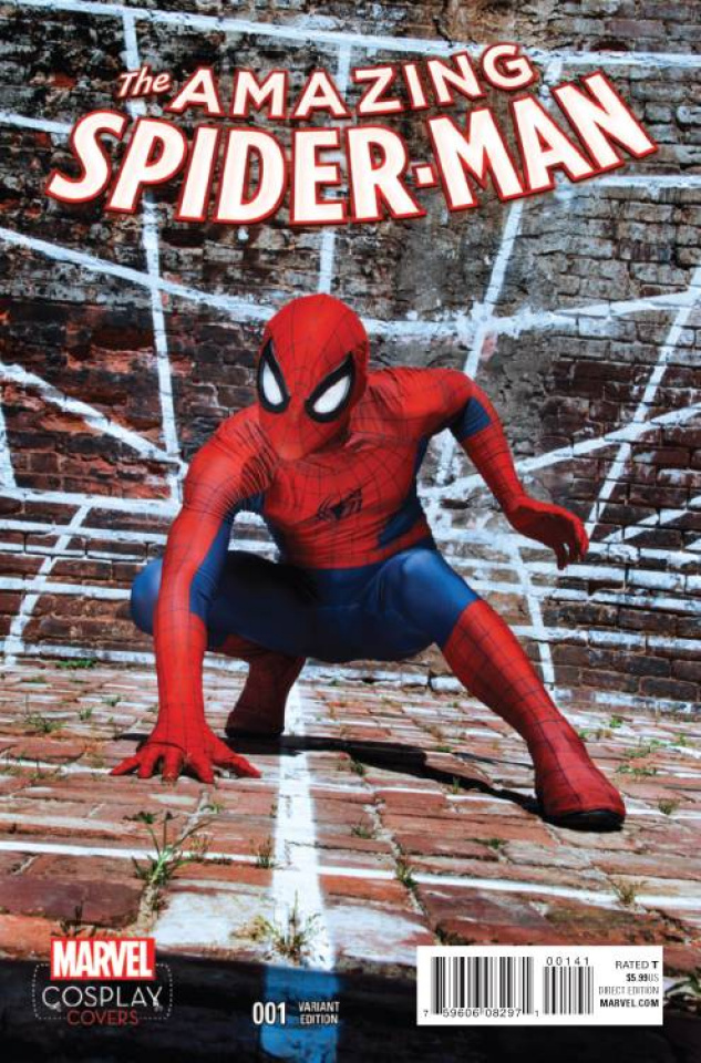 The Amazing Spider-Man #1 (Cosplay Cover)