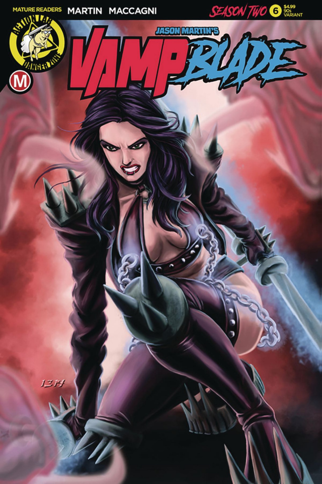 Vampblade, Season Two #6 ('90s Cover)