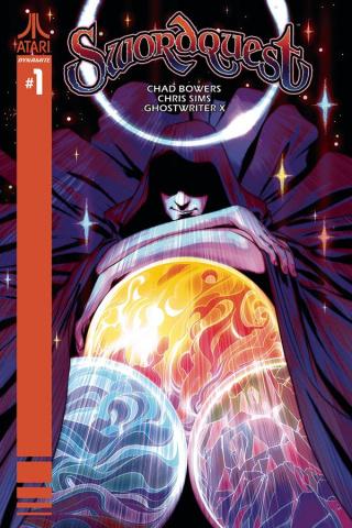 Swordquest #1 (Montes Cover)