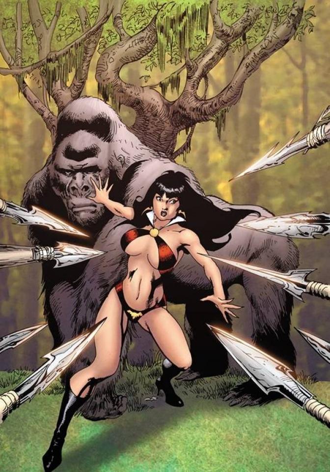 Vampirella #18 (7 Copy Castro Virgin Cover)
