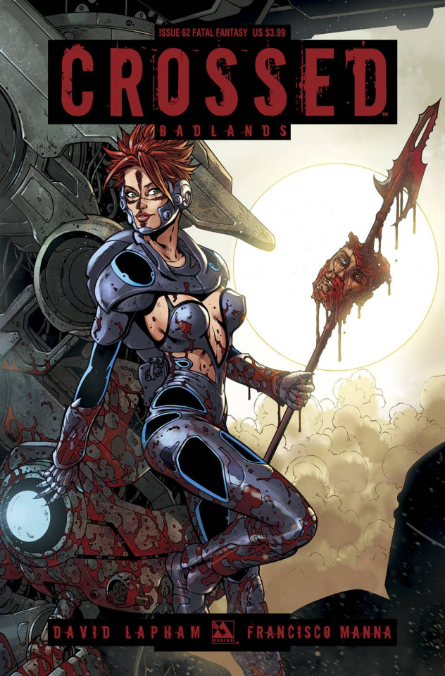 Crossed: Badlands #62 (Fatal Fantasy Cover)