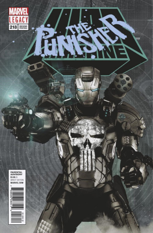 The Punisher #218 (2nd Printing)