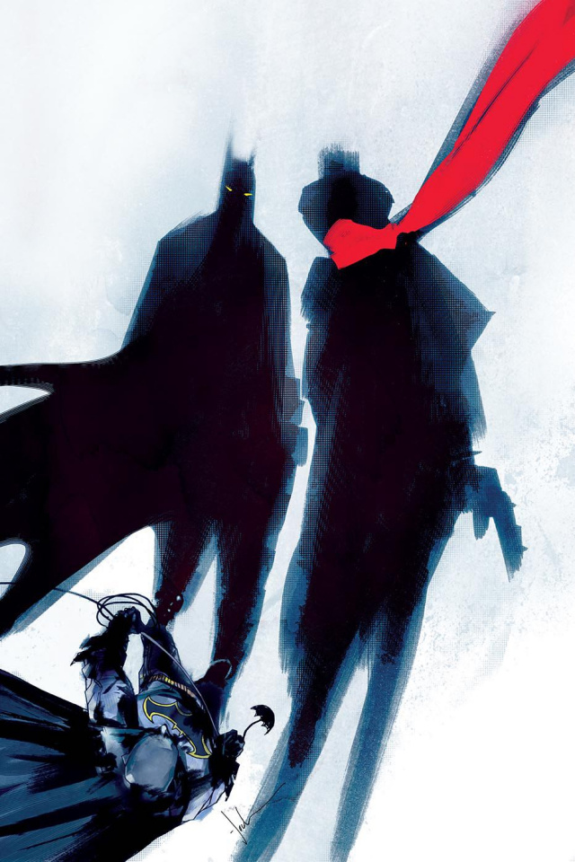 Batman / The Shadow #6 (Jock Cover)