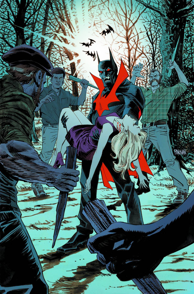Batman Beyond #5 (Monsters Cover)
