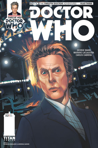 Doctor Who: New Adventures with the Twelfth Doctor, Year Three #2 (Qualano Cover)