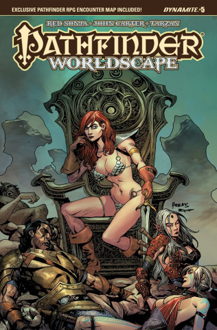 Pathfinder: Worldscape #5 (Bermudez Cover)
