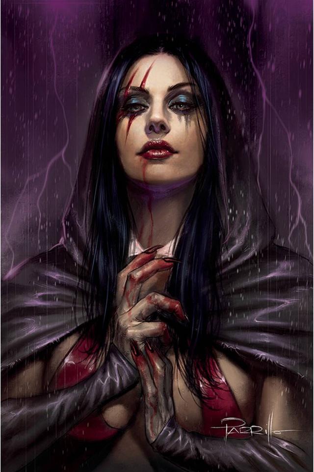 Vengeance of Vampirella #14 (Parrillo Virgin Cover)