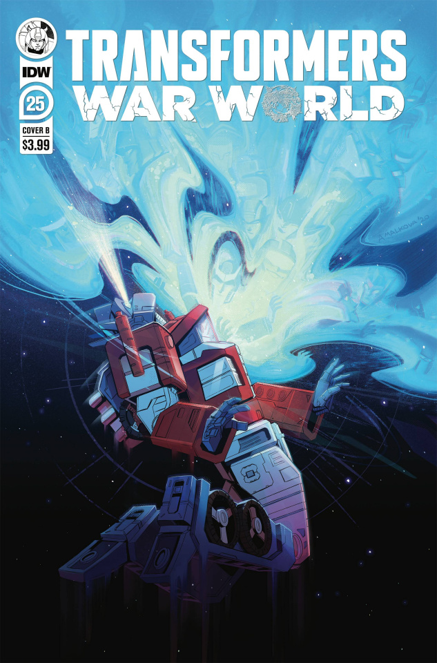 The Transformers #25 (Anna Malkova Cover)