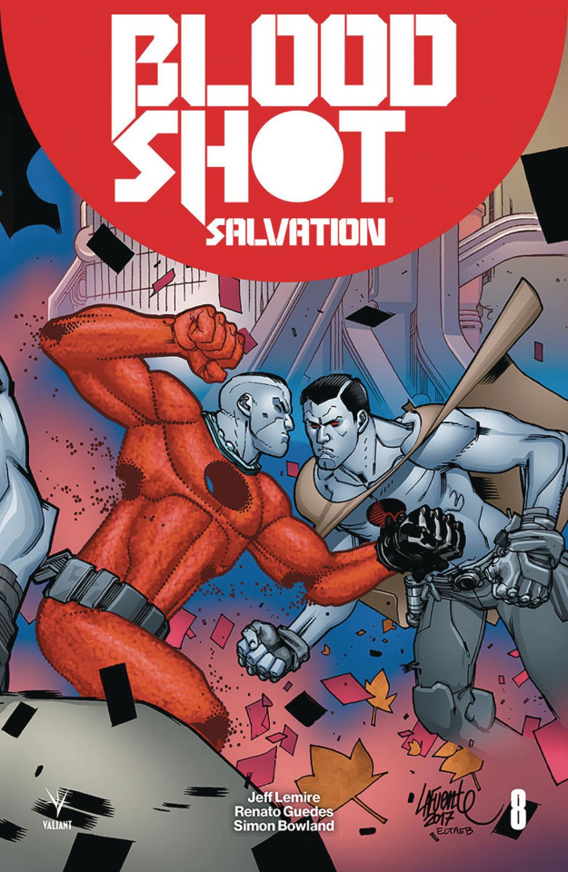 Bloodshot: Salvation #8 (20 Copy Lafuente Cover)