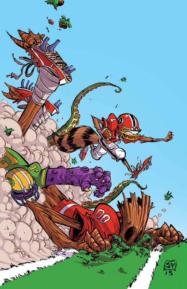 Rocket Raccoon and Groot #4