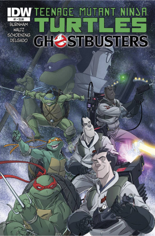 Teenage Mutant Ninja Turtles / Ghostbusters #1