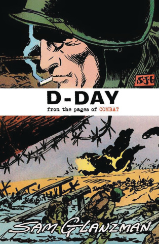 D-Day: From the Pages of Combat (Glanzman Cover)