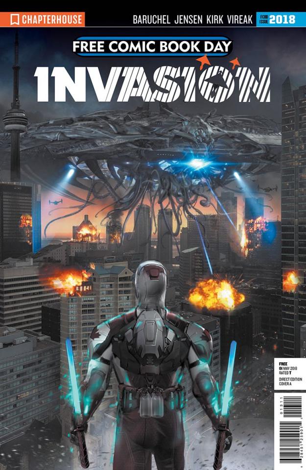 Invasion FCBD 2018 Special